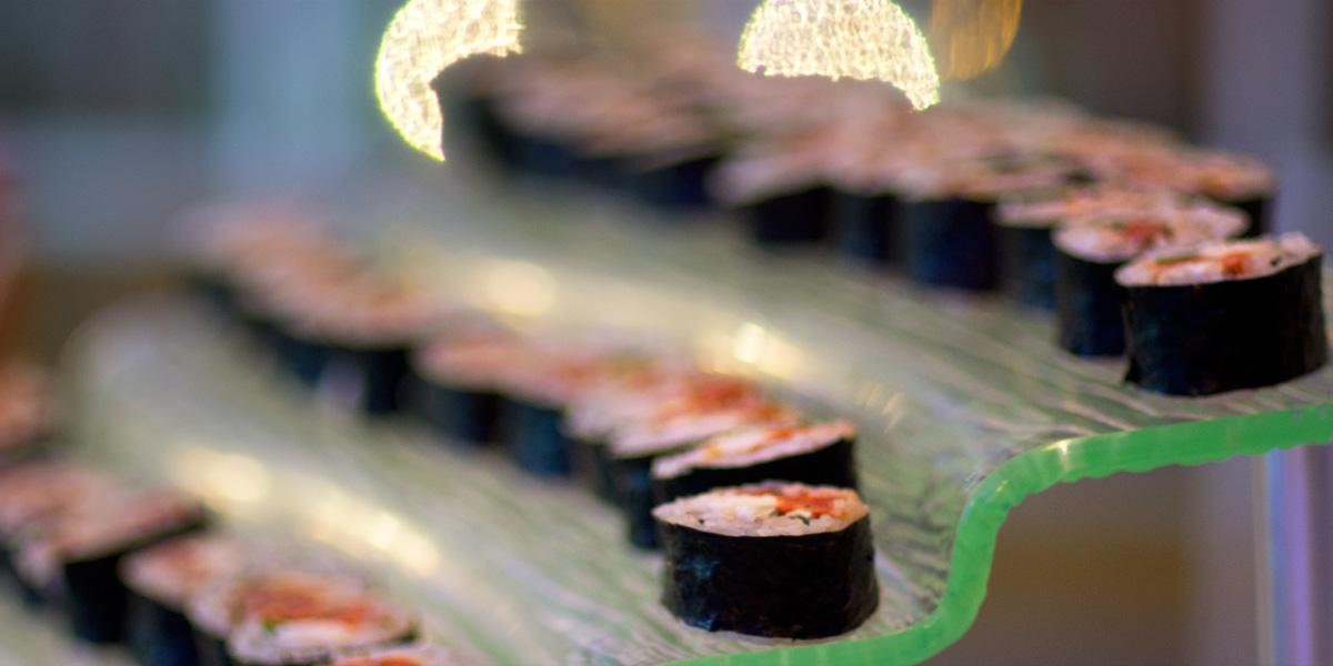 Sushi stairs